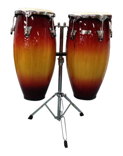 conga drums red