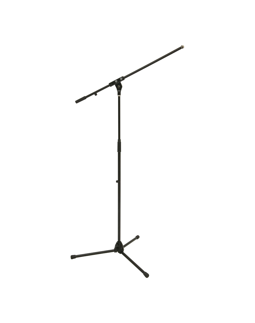 how to use a boom stand